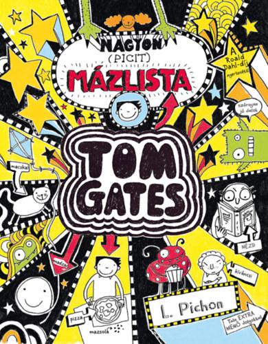 Nagyon (picit) mázlista – Tom Gates 6.