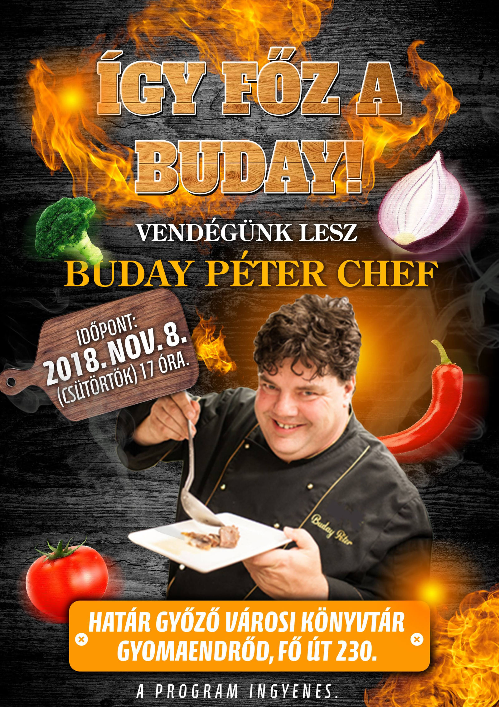 buday peter chef